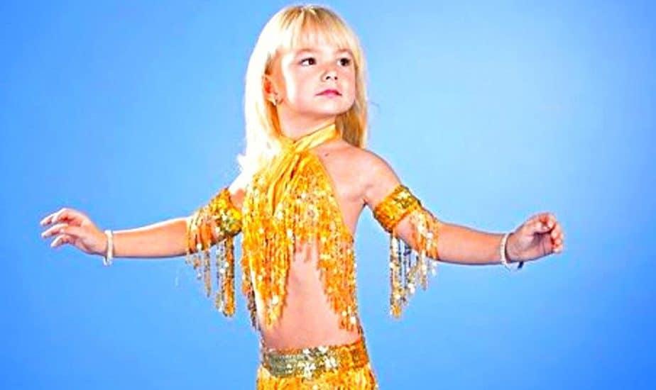 Bellly Dance For Kid - Lớp Múa Bụng Thiếu Nhi Tại Sài Gòn 2
