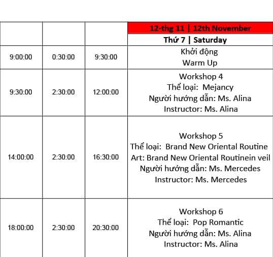Vietnam Bellydance Festival 2016 4
